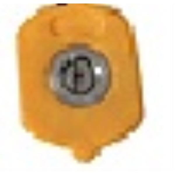 고압세척기퀵노즐-Yellow(15도)